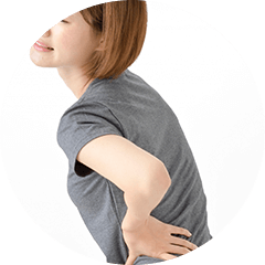 慢性的な腰痛イメージ